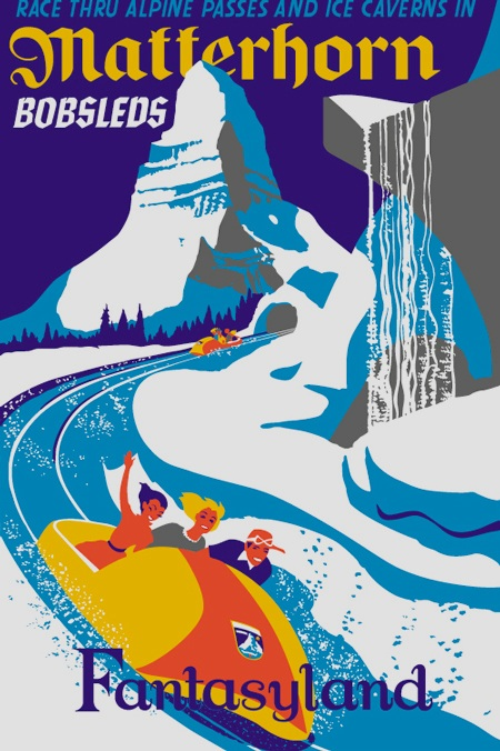 What I Learned About Living with ADHD from Disneyland's Matterhorn Bobsleds